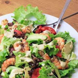 Shrimp & Avocado Caesar Salad
