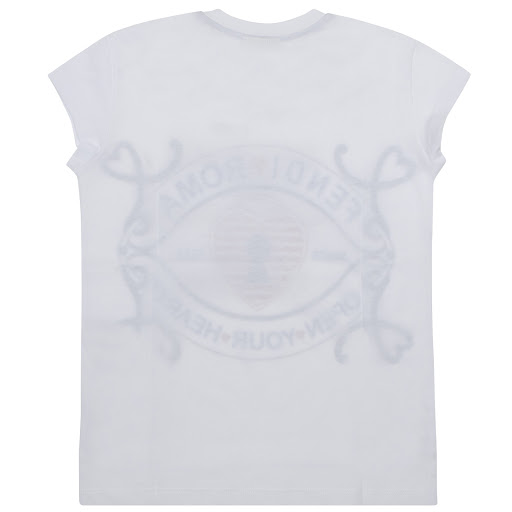 Thumbnail images of Fendi Heart Cotton T-shirt