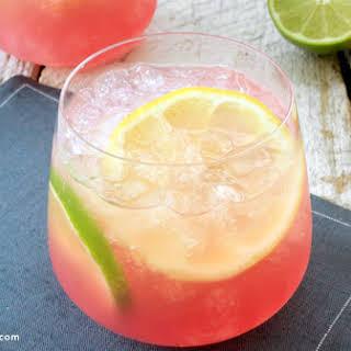 Pink Lemonade Vodka Punch.