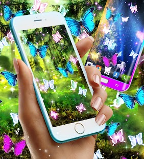 Magical forest live wallpaper - náhled