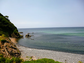 Photo: An early summer day at a beautiful seashore near Satsuki Matsubara pine grove (http://www.city.munakata.lg.jp/e-kanko/miru/shizen-keikan.html) near my hometown in Fukuoka, Japan. Also, I just found that there is an official English website run by Munakata-city (http://www.city.munakata.lg.jp/e_index.html). 8th July updated (日本語はこちら) - http://jp.asksiddhi.in/daily_detail.php?id=597