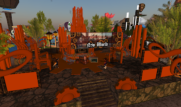 Photo: Steampunk Station = http://maps.secondlife.com/secondlife/Hoedown/26/224/24