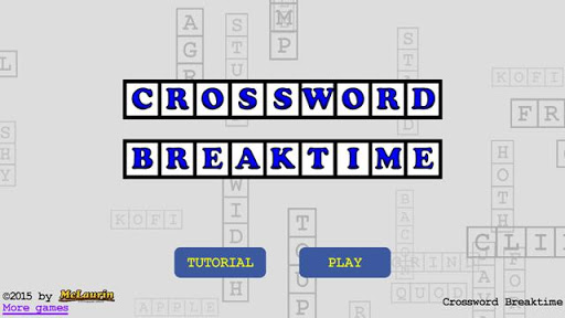 Crossword Breaktime