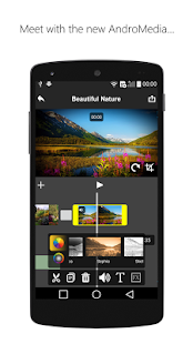 Video Editor AndroMedia: miniatura de captura de pantalla