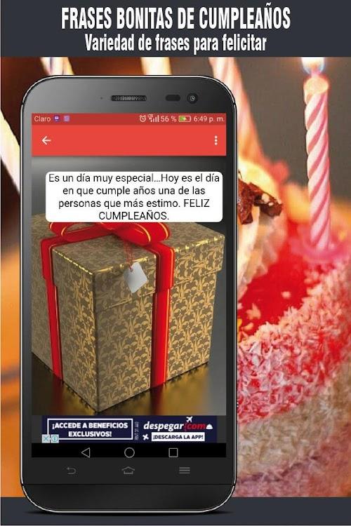 Frases Bonitas De Cumpleaños Con Imagenes Gratis Android