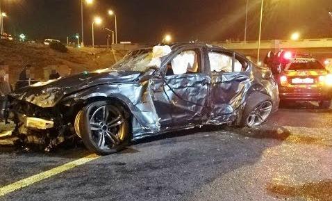 WATCH | High-speed crash caught on camera during 'street race'