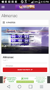 ABC4 - KTVX Pinpoint Weather- screenshot thumbnail