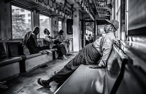 Street Photography 2018 in bianco e nero