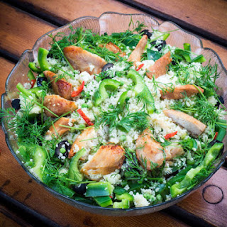 Green Chicken Salad