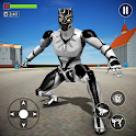 Flying Panther Robot Hero City Crime Fighter icon
