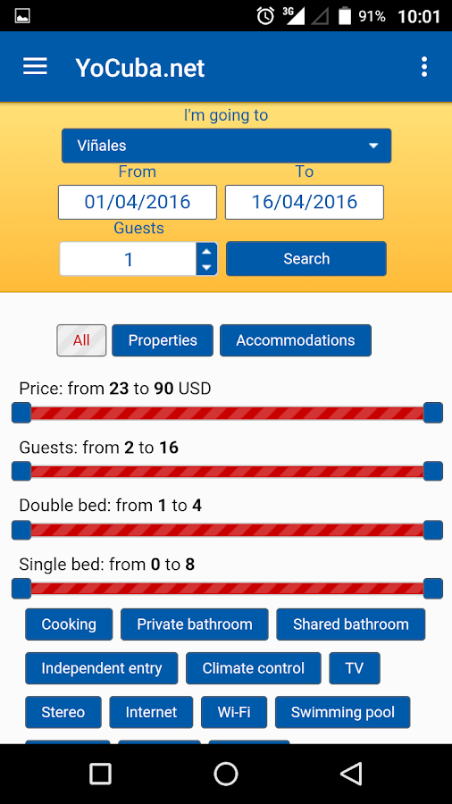 YoCuba.net - Private houses- screenshot