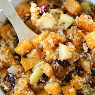 Butternut Apple Cranberry Quinoa Salad