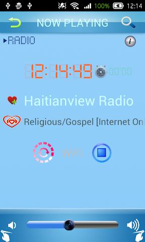 android Creole Radio Screenshot 2