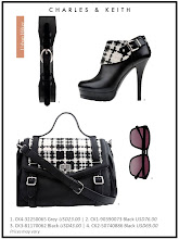 Photo: Autumn'12 Style 6: Jazz up black numbers with the infusion of textures     Visit your nearest store or CharlesKeith.com to find out more