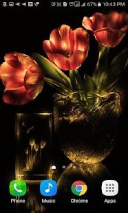 Flowers Pot Shine LWP - náhled