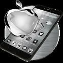 Black Apple Crystal Theme icon