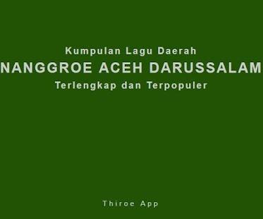 Kumpulan Lagu Aceh Terlengkap & Terpopuler - náhled