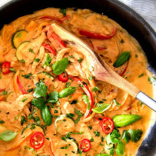 Thai Chicken With Red Curry Paste Recipes.