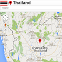 Thailand map icon