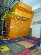Photo: Podar College climbing wall 2.