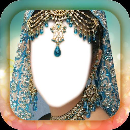 Indian Bride Jewellery Montage