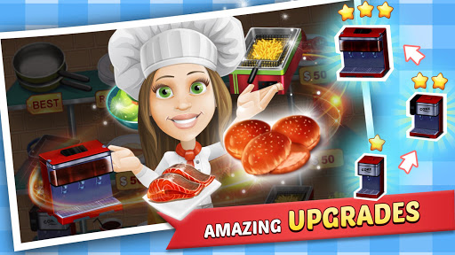 Food Court Fever: Hamburger 3 2.7.3 de.gamequotes.net 3