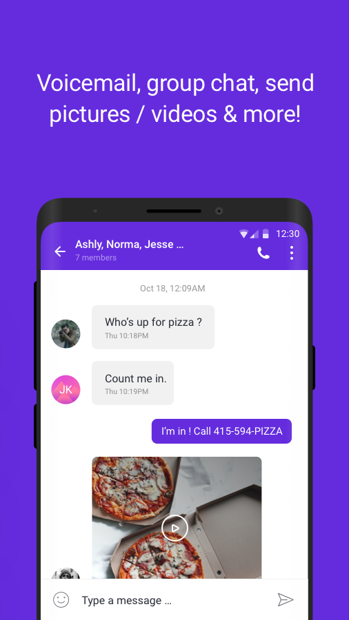 TextNow: Free Texting & Calling App Screenshot 5
