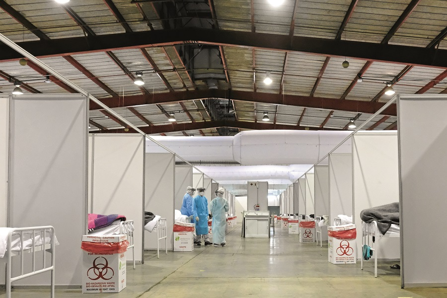 Nasrec field hospital to remain open as Gauteng health department closes 3 quarantine sites - TimesLIVE