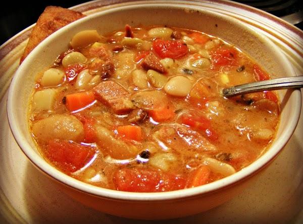 Slow Cooked Ham Bone Soup Recipe