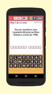 Quiz do Amor e Romance - náhled