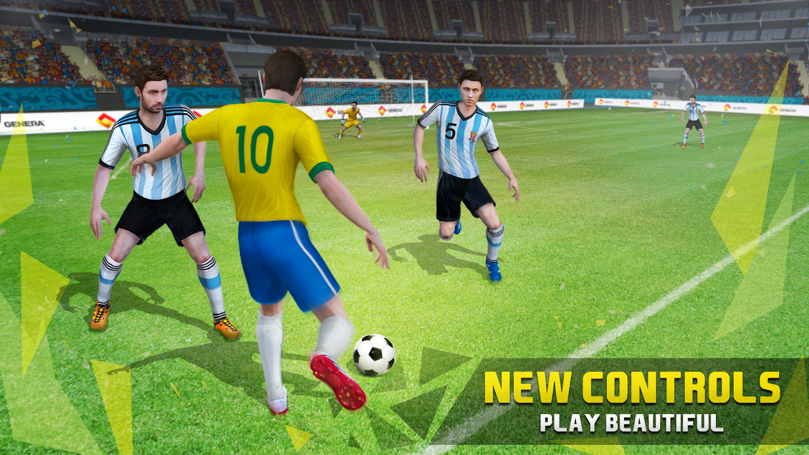 new star games soccer