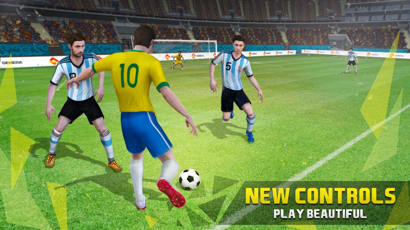 new star games soccer