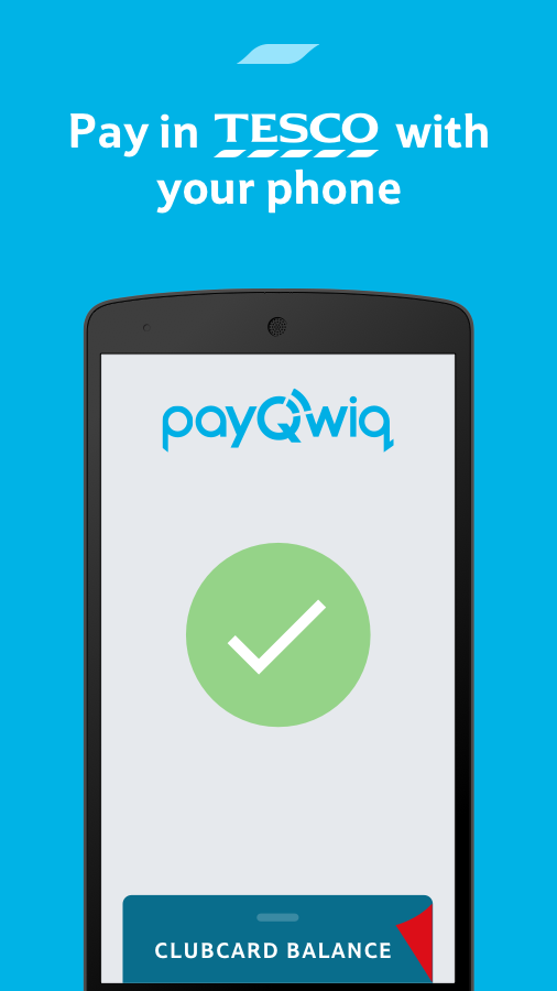 PayQwiq from Tesco- screenshot