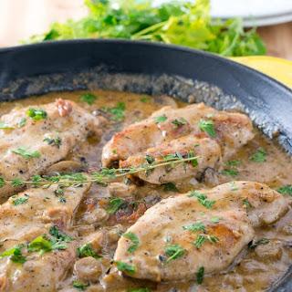 Easy Creamy Chicken Marsala