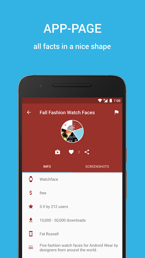 Wear Store for Wear Apps- screenshot