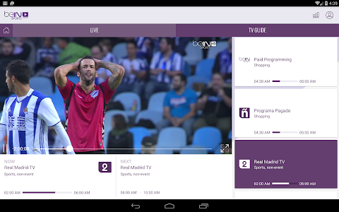 beIN SPORTS CONNECT screenshot 8