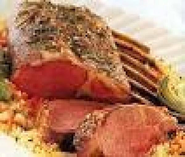 Herbed Grilled Rack Of Lamb Recipe