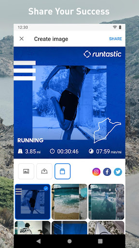 Runtastic screenshot 6