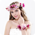 Flower Crown Cam Editor icon