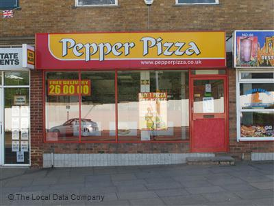 Pepper Pizza On George Street Fast Food Delivery In Corby
