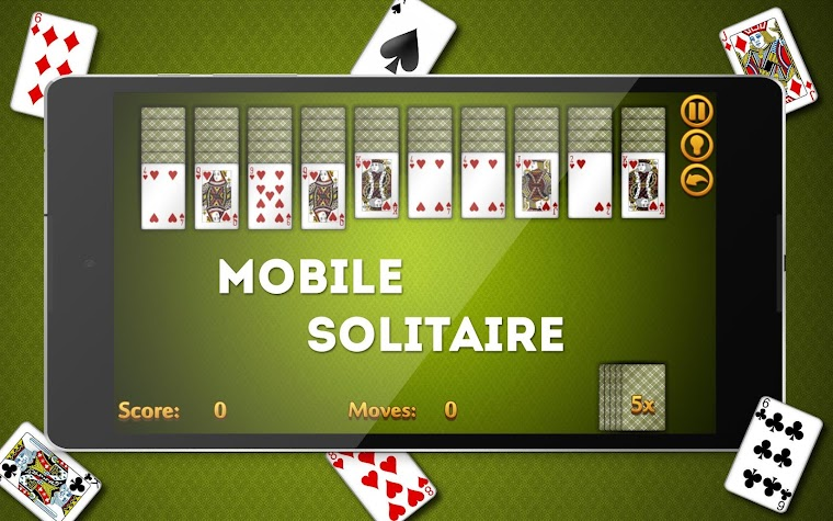 Card Games: Spider Solitaire Screenshot