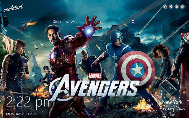 Avengers Hd Wallpapers Marvel New Tab Theme