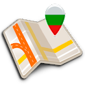 Map of Bulgaria offline icon