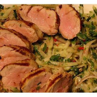 Marinated Grilled Pork Tenderloin.