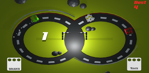 It was a crazy drive! Score points while dodging other multiplying cars on track
