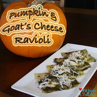 Simple Pumpkin & Goat's Cheese Ravioli