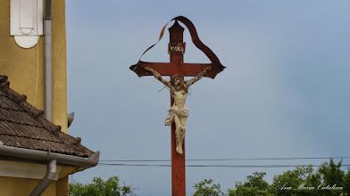 Photo: Str. Avram Iancu, Biserica Franciscana, crucifix - 2014.07.06
