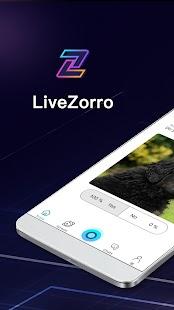 LiveZorro - Anonymous Social - náhled
