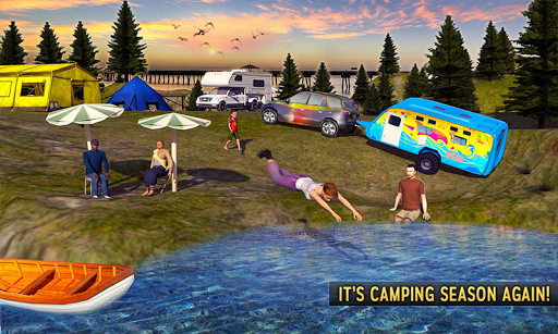 Camper Van Truck Simulator 2: Virtual Family Games 1.1 screenshots 1