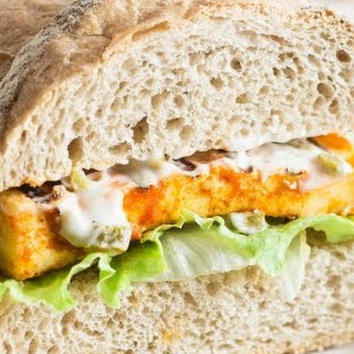 Grilled Paneer Sub Sandwich